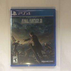 Final Fantasy XV plus Masamune DLC Weapon
